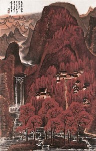 Li Keran's All The Mountains Blanketed In Red