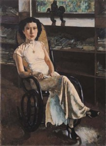 Xu Beihong's Portrait of a Lady