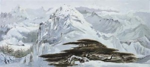 Wu Guanzhong's Scenery of Northern China